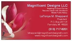 Magnificent Designs LLC