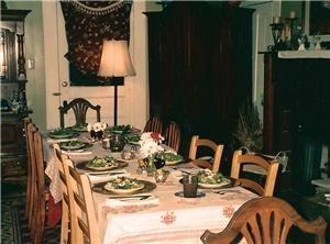 Wildflower Farmhouse, Wildflower Farm, Jackson — Private Dining Rooms are available to accommodate you and your guests.  We pride ourselves on our exemplary service which harkens back to the graciousness of a simpler time.