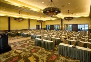 Grandview Ballroom, Big Cedar Lodge, Ridgedale — The Grandview Ballroom has 4 sections that can be rented separately.