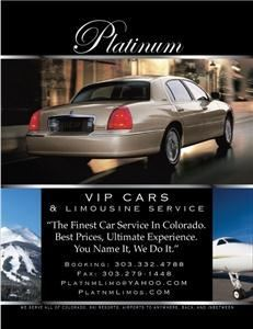 DENVER PLATINUM LIMOUSINE &CAR SERVICE