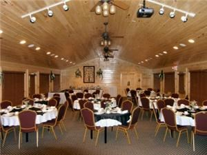 Reception Hall, Angel's View Wedding Chapel, Sevierville