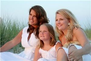 Resort Photography, Myrtle Beach — Family Beach Portrait