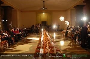 Huqa Entertainment, Washington — Lighting design for Northern VA Fashion Week by Huqa Entertainment