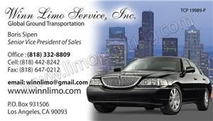 Winn Limo Service, Inc., Los Angeles — When corporate clients are visiting Los Angeles, they need a limo service that they can rely on to get them to and from their events in minimal time.  Corporate professionals have insanely busy schedules and it is important that they never fall behind when they are supposed to attend events, seminars or conferences.  They do want to waste time by being stuck in traffic or by having to deal with things like airport parking when they have places to go and important people to see.  