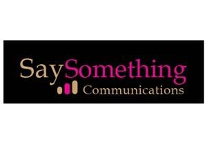 Say Something Communications Inc.