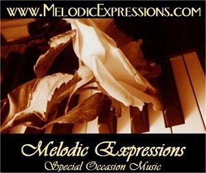 Melodic Expressions - Sarasota, Sarasota — Melodic Expressions specializes in live, music entertainment by providing quality piano accompaniment and vocal solo work. Its mission is to offer affordable special-occasion music that is not only memorable but personal to each client's tastes