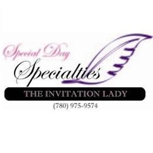 Special Day Specialties - The Invitation Lady - Stony Plain