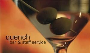 Quench Bar & Staff Service, Calgary — Quench is a professional bartending and event staff service for private and corporate events. We're fun, energetic, knowledgeable, and experienced. If you are planning a wedding, stampede party, fundraising event, or corporate barbeque, our bartending and event staff will ensure that you and your guests enjoy yourselves without a worry!