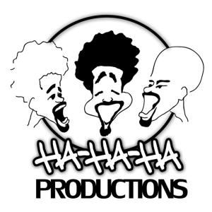 Ha, Ha, Ha Productions, Clinton — Business Logo
