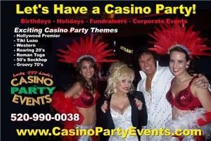 Az Lucky Linda's Casino Party Events