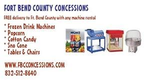 Fort Bend County Concessions - Stafford