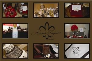 Amour Toujours Event Design, Denham Springs — Amour Toujours Event Design, a southern-based company with big-city appeal, is a cutting-edge event design company with a traditional philosophy:  we strive to plan each event as if it were our own.  We specialize in providing fresh ideas to the budget-conscious client.