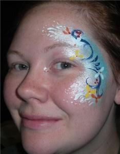 Bright & Shining Face Painting
