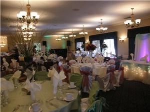 Beas Angelic Touch Linens, Riverside — We have chaircovers in black, white, ivory, brown & gold. We can either decorate your event or just rent the linens to you and save you money.