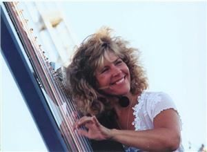 Lori Andrews JazHarp Records Santa Barbara