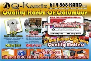 QKardz.com Quality full color printing