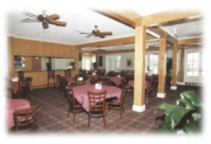 Restaurant, Acadian Hills Country Club, Lafayette