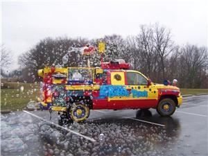The Bubble Truck