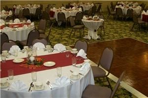 Regency Ballroom, RAMADA Elyria, Elyria — Our Regency Ballroom is very versatile.  Elegant and attractive for a wedding reception and functional and spacious for meetings.