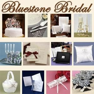 Bluestone Bridal, Victorville — Wedding invitations, accessories and favors.
