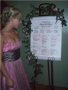 Belle Jardine Seating Charts
