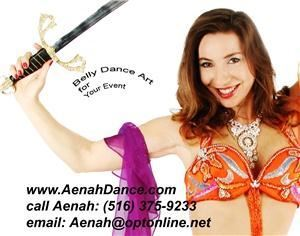 Prodessional Belly Dance Performer Aenah