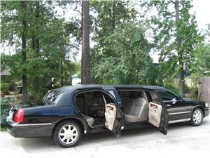 Corporate Limousines, Spring — 6 passenger 5 door Luxury Stretch Limousine