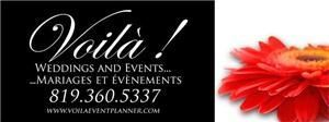 Voila! Weddings & Events, Gatineau
