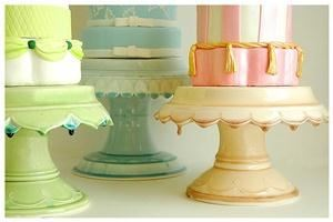 Cake Stands by Clara French