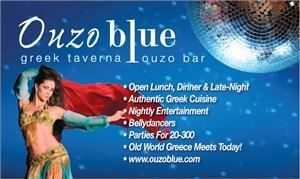 Ouzo Blue Greek Taverna