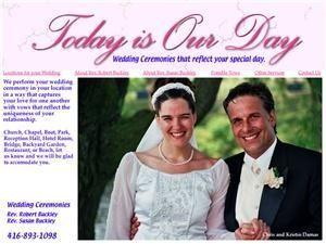 Wedding Ceremonies-Today Is Our Day