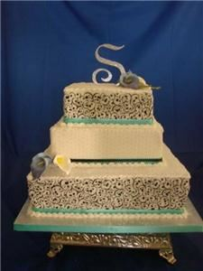 cakes by design edible art, North Andover — wedding cakes