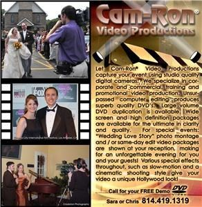 Cam-Ron Video Productions - Pittsburgh