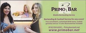 Primo Bar - Mobile Bartending Services
