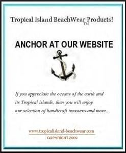 Tropical Island Beach Wear