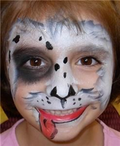 Brush and Beret - Face Painting Designs for all Ages!, Reston — Puppy Dog Fun!