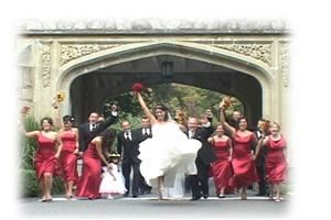 Persona Video, Victoria — of course, in the video, all of the action was captured on this beautiful wedding day