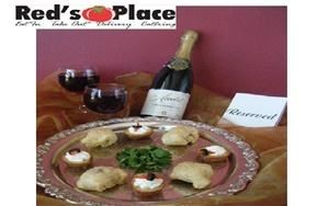Red's Place Restaurant, Twinsburg — Red's Place provides restaurant, catering, and banquet services. The building can hold a maximum of 80 people, and the menu options for your event are limitless! Red's Place can tailor fit the menu offerings and prices to fit your needs.
