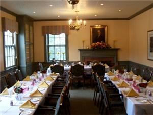 The Alumni room, The Wooster Inn, Wooster