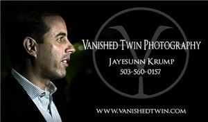 Vanished Twin Photography