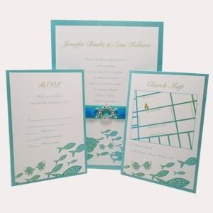 Suelo Creations Custom Wedding Invitations