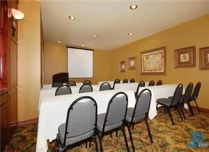 Meeting Room, Best Western Plus - Crown Colony Inn & Suites Lubbock Windsor Inn, Lufkin — Classroom Layout - Seats up to 14