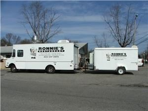 Ronnie's Restaurant, Morristown — Full service mobile kitchen to prepare all foods fresh on the spot.