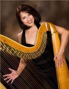 Miriam Weber Brown Harpist, Columbus — Add an elegant touch to your event!  Whether you're planning a classy, romantic or upbeat theme, you will be pleased with the professionalism of Miriam Weber Brown, Harpist.  She has played for well over 900 Columbus area weddings/receptions, 700 corporate events and 500 Sunday Brunches.  Her love of music making, vast music  collection, cooperative planning, and attention to detail will combine to make your event a music success.  Choose from Classical-Jazz standards-Pop of all decades-Celtic-Latin-New Age-Holiday music.  For an outstanding combination of sound, consider the Flute-Harp Duo.  Amplification available.  Call now and begin planning your music!