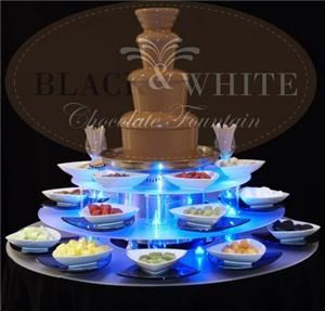 Black & White Chocolate Fountains