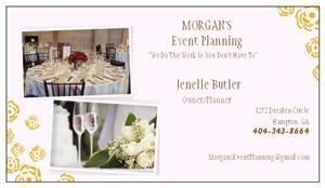 Morgan's Event Planning