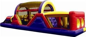 MagicBounce, Inc., Saint Paul — Our Brand-New 40' Obstacle Course offers excitement as 2 participants at a time race each other to the end. A variety of pop-ups, a climb 'n slide, and barrel obstacles make this course a crowd favorite.  We also have the smaller 30' version or for those that want something huge try our Ultimate Challenge or Adrenaline Rush Obstacle Challenge.