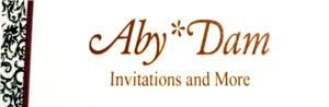 Aby*Dam Invitations