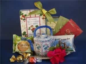 Corporate Gifts Boston - Providence, Providence — Butlers Tea tray - Lovely Thank you or Corporate favor or small gift idea cello'ed and bowed on completion.