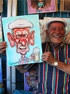 Caricatures by Chris Rommel